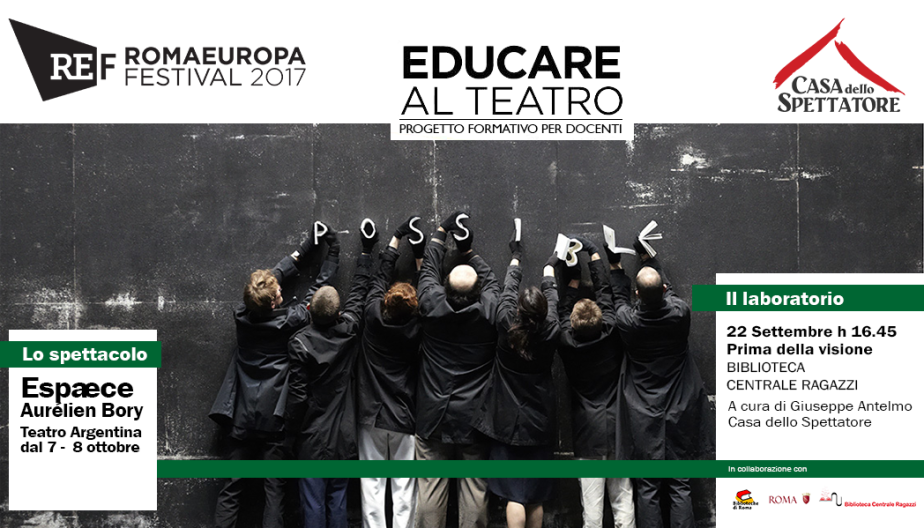 Educare al Teatro (Romaeuropa festival)#2
