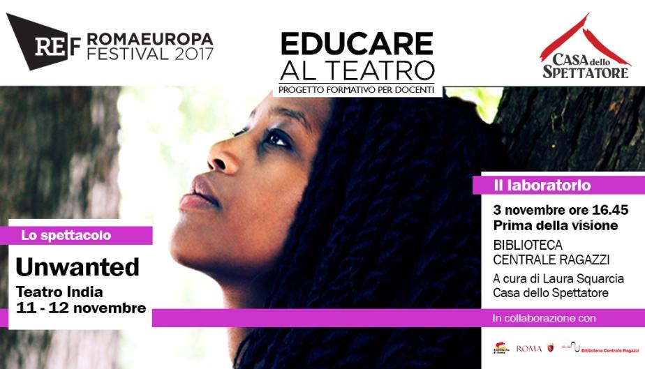 Educare al teatro (Romaeuropa festival)#4